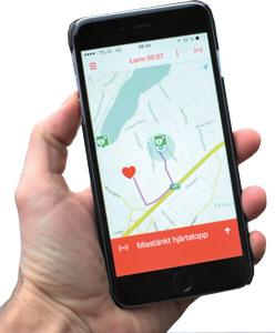 Sms livräddare app