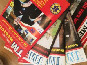 Tidningen TM Räddningsmedicin gavs ut av Svenska Räddning- och Akutvårdsgruppen (SRAG)