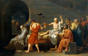 """Filosofi, från grekiskans philosophía (φιλοσοφία), """"Kärlek till visdom"""""""